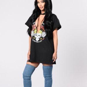 Fashion nova short sleeve  tunic
